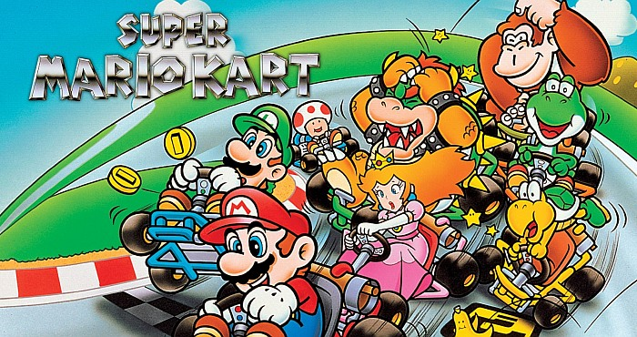 SNES Super Mario Kart download